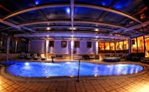 Relax in the indoor pool of our hotel!